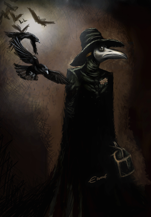 Plague Doctor Mask 3