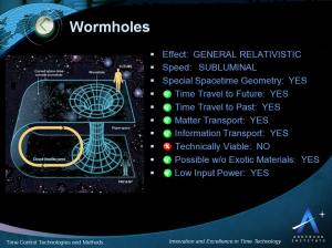 wormhole-characteristics